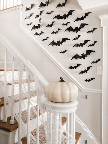 Halloween Home Tour_ Easy Halloween Decor Ideas - Lovely Lucky Life